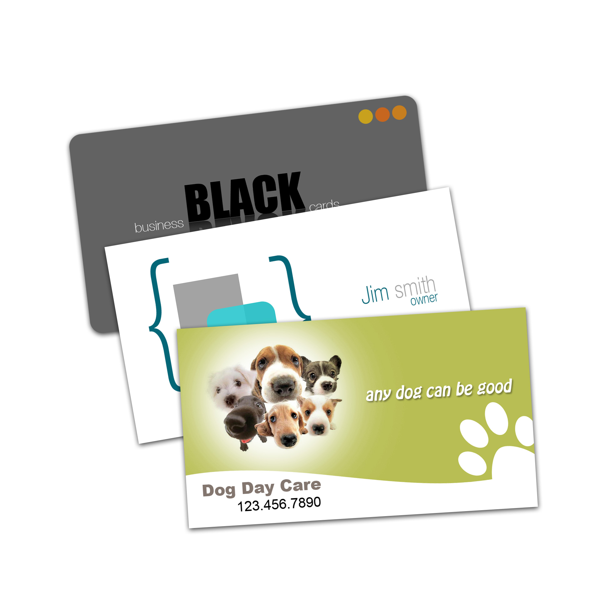 Business Cards (Laminated matte or glossy) - Cartes d'affaires (Laminées mat ou lustré)