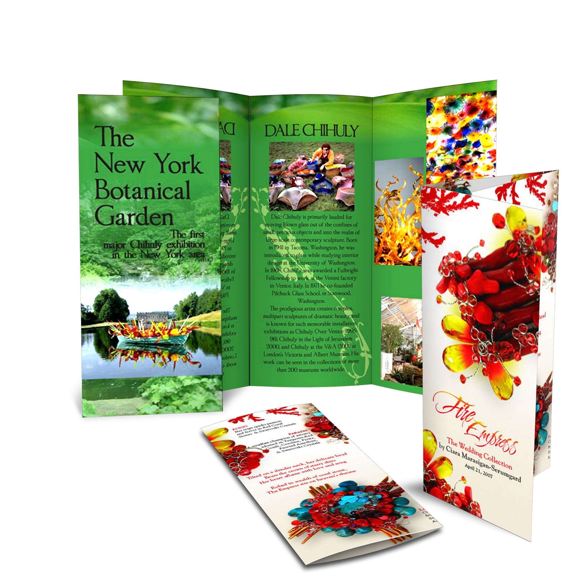 Brochures - Depliant
