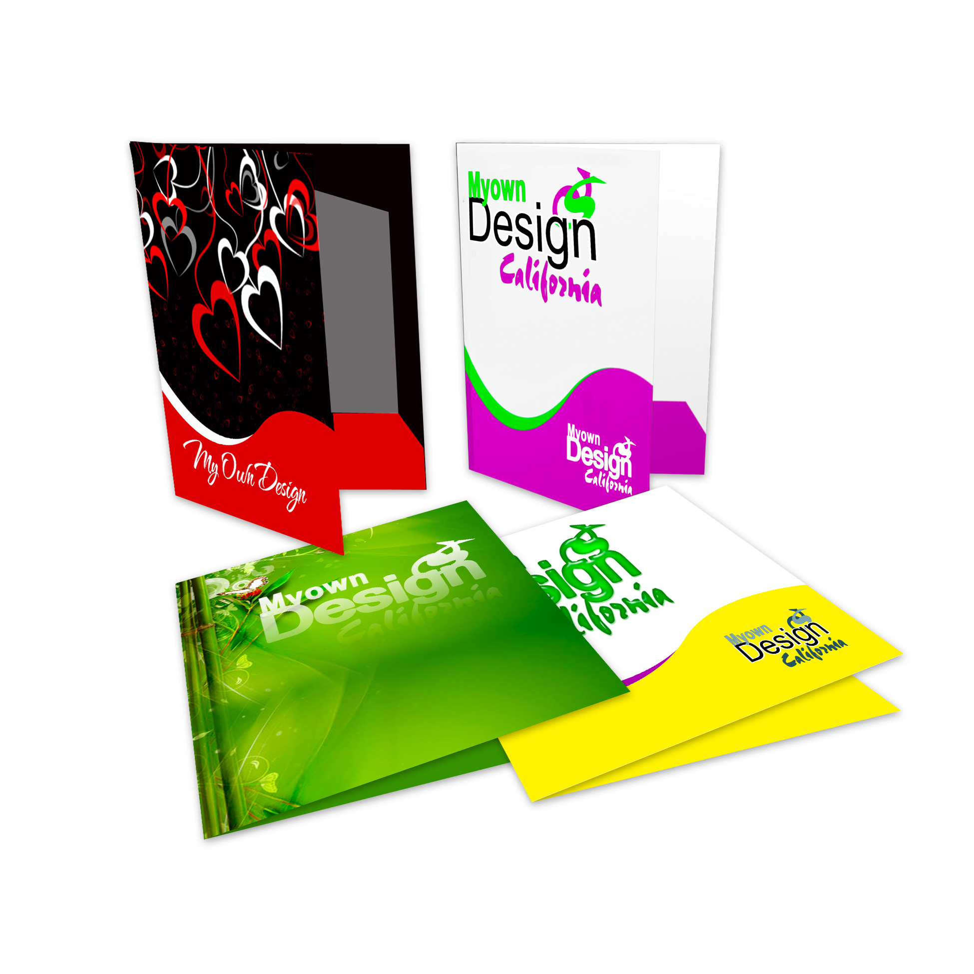 Presentation Folders - Pochettes de présentation
